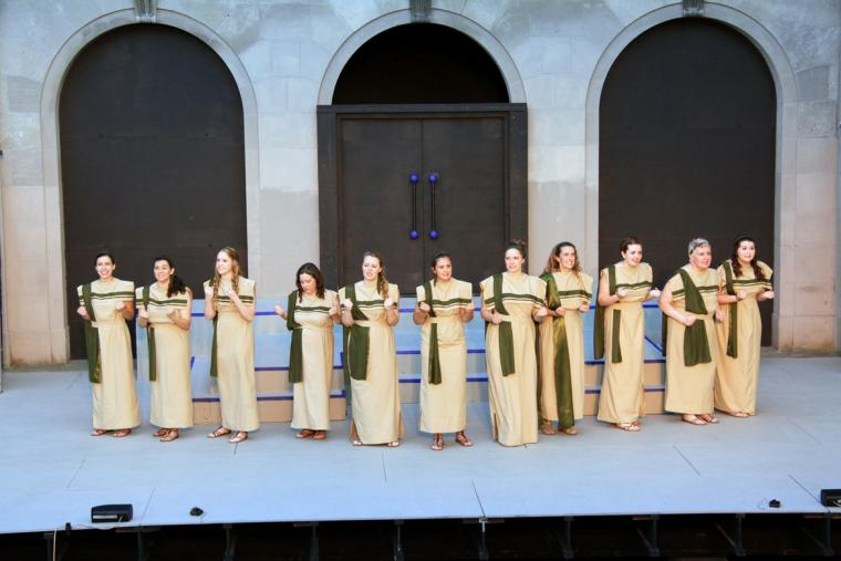The Seven Against Thebes chorus