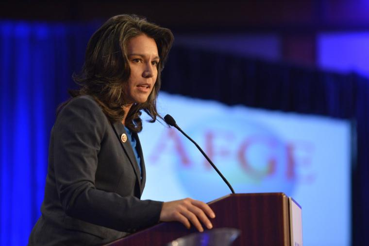 U.S. Representative Tulsi Gabbard in 2013. Photo by the American Federation of Government Employees.
