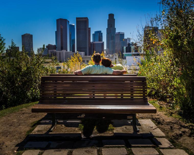 Urban, Third Place: Dale Fehr, Hampton, Illinois (<em>The Bench</em>)
