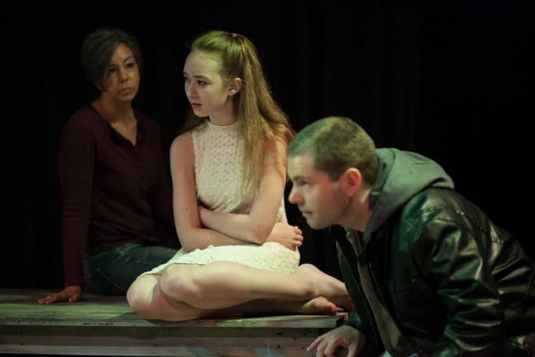 Jennifer Popple, Laila Haley, and Thomas Alan Taylor in Broken