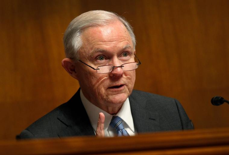 Jeff Sessions in 2016.