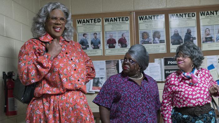 Tyler Perry, Cassi Davis, and Patrice Lovely in Tyler Perry's Boo 2! A Madea Halloween