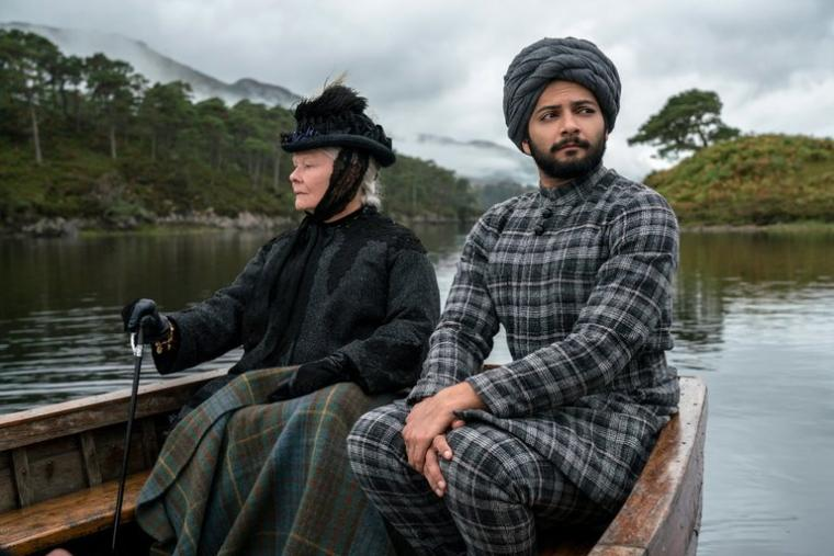 Judi Dench and Ali Fazal in Victoria & Abdul