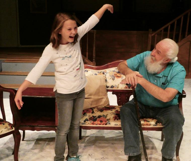 Chloe Hansen and Don Fey in Miracle on 34th Street