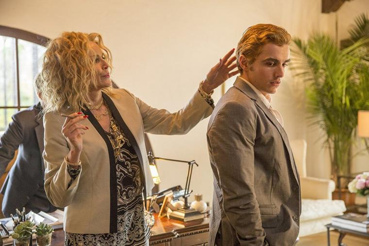 Sharon Stone and Dave Franco in The Disaster Artist