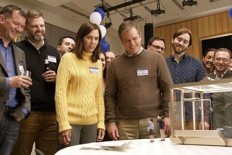 Kristin Wiig and Matt Damon in Downsizing