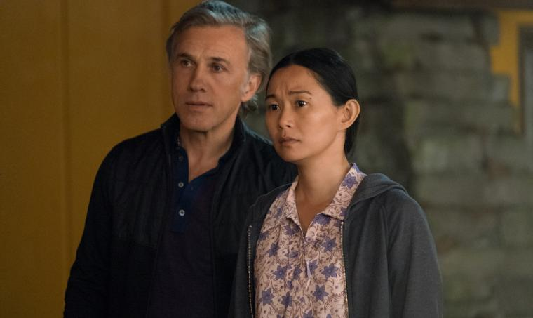 Christoph Waltz and Hong Chau in Downsizing