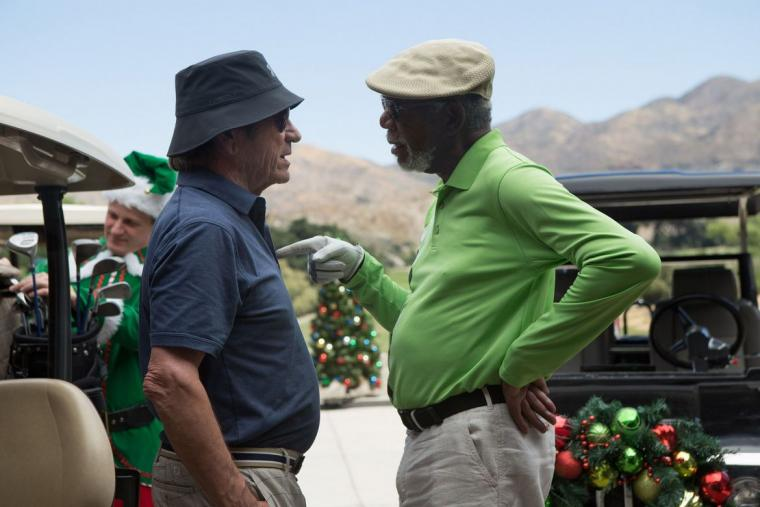 Tommy Lee Jones and Morgan Freeman in Just Getting Started
