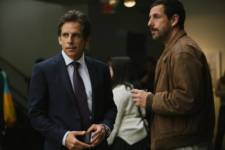 Ben Stiller and Adam Sandler in The Meyerowitz Stories (New & Selected)