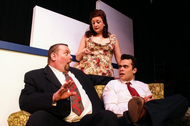 Brant Peitersen, Jess Fah, and Adam Sanders in Catch Me If You Can