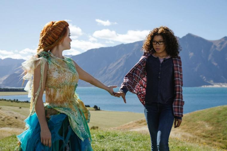 Reese Witherspoon and Storm Reid in A Wrinkle in Time