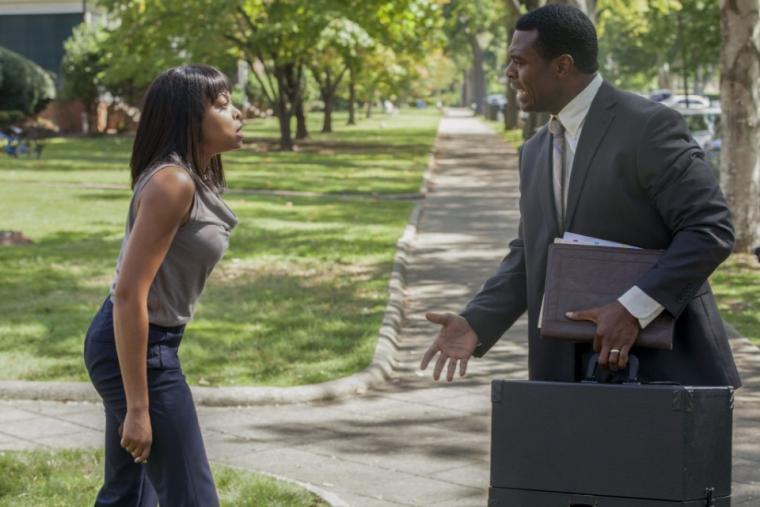 Taraji P. Henson and Lyriq Bent in Tyler Perry's Acrimony