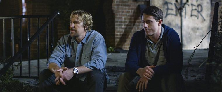 David A.R. White and Shane Harper in God's Not Dead: A Light in Darkness