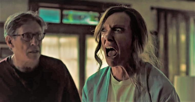 Gabriel Byrne and Toni Collette in Hereditary