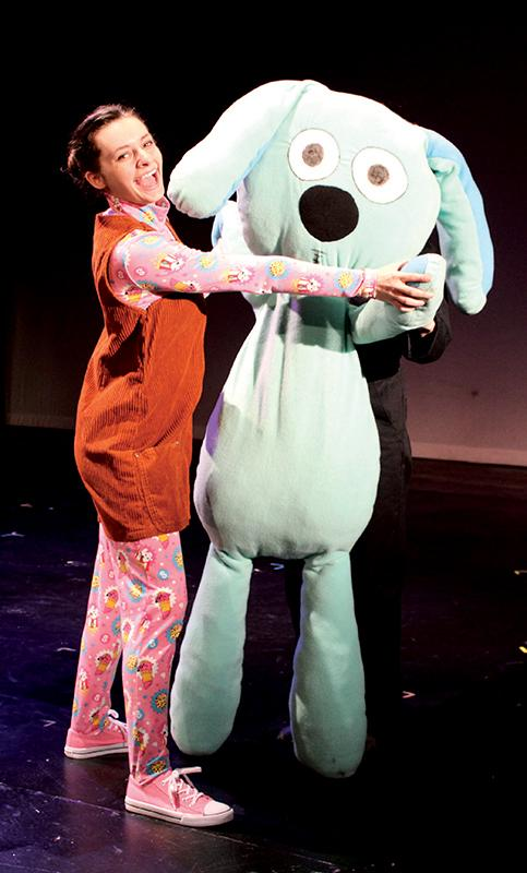 "Cydney Weitzel in ""Knuffle Bunny: A Cautionary Musical"""