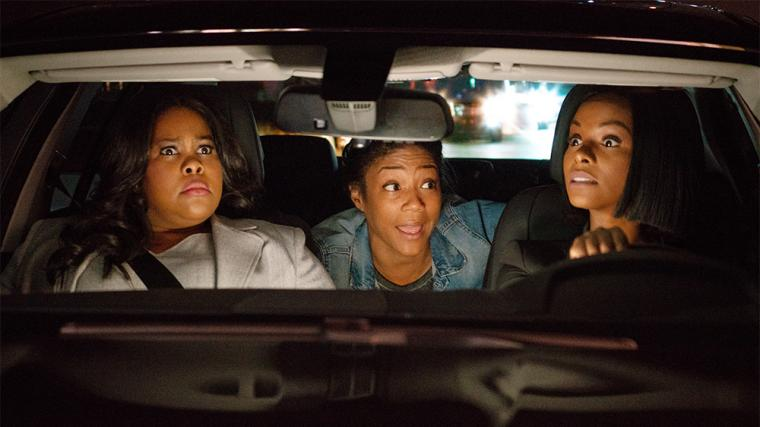 Amber Riley, Tiffany Haddish, and Tika Sumpter in Nobody's Fool