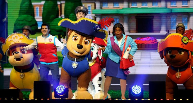 PAW Patrol Live! The Great Pirate Adventure at the TaxSlayer Center -- January 26 and 27.