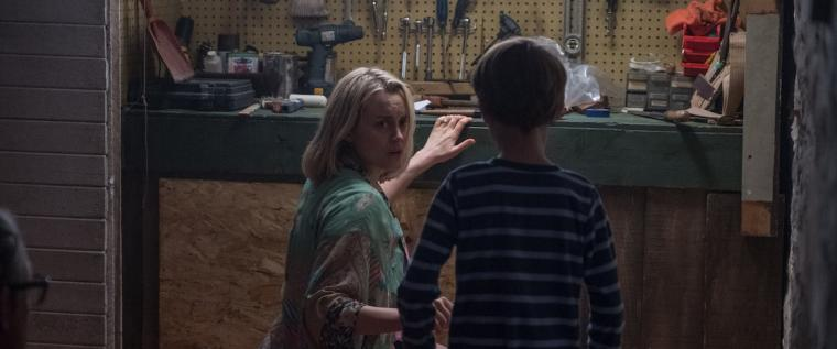Taylor Schilling and Jackson Robert Scott in The Prodigy