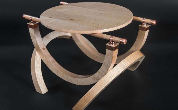 Todd Hughes Furniture In The Julie Nelson And Douglas Rutzen Exhibit At Quad City Arts International Airport Gallery March 2 Through April