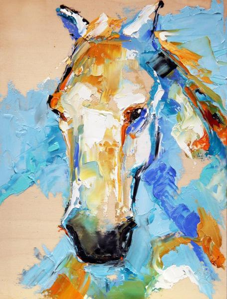 "Laurie Justus' Pace's ""HorsePower"" at the Beréskin Gallery & Art Academy -- April 27 through May 30."