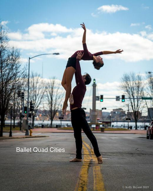 "Ballet Quad Cities' presents ""Ballet Under the Stars"" at Lincoln Park -- June 7 through 9. (photo by Kelly Bryant)"