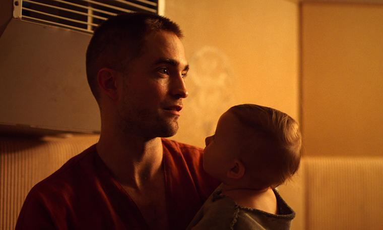 Robert Pattinson and Scarlett Lindsey in High Life