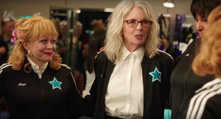 Jacki Weaver and Diane Keaton in POMS