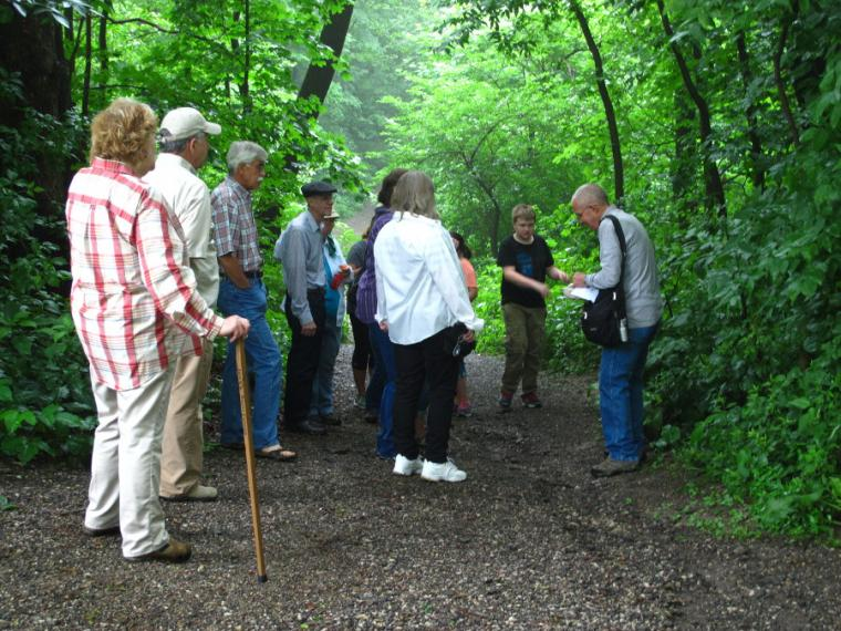Riverine Walks -- May 29 through August 31.