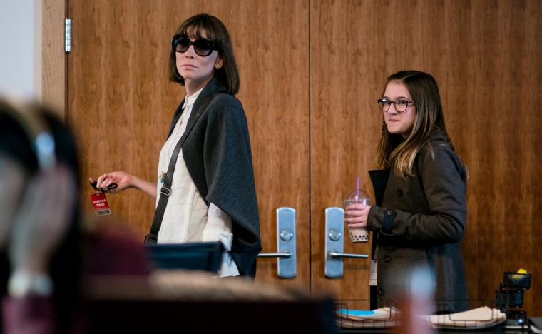 Cate Blanchett and Emma Nelson in Where'd You Go, Bernadette