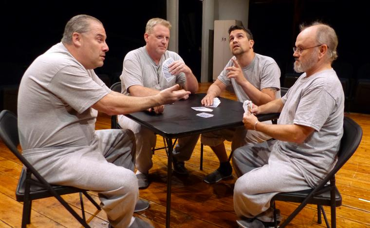 Bruce Carmen, David Beeson, Jordan Smith and Jim Skiles in One Flew Over the Cuckoo's Nest