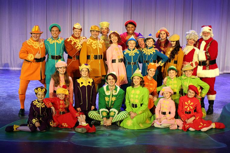 cast members in Elf: The Musical