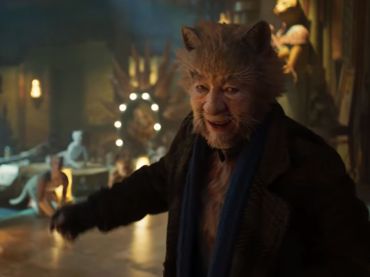 Ian McKellen in Cats