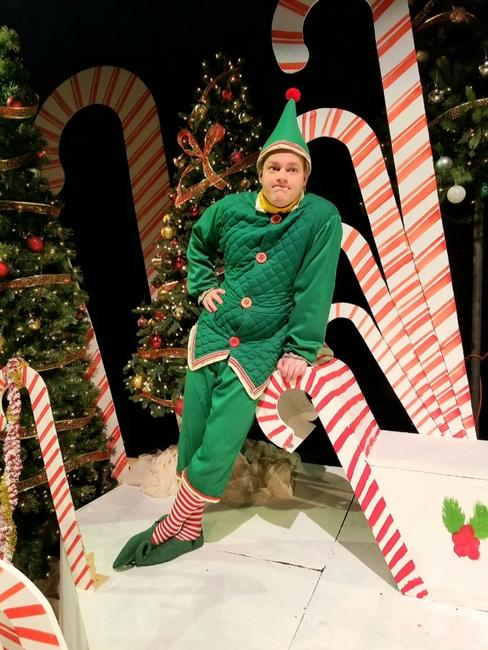 Keenan Odenkirk in The Santaland Diaries