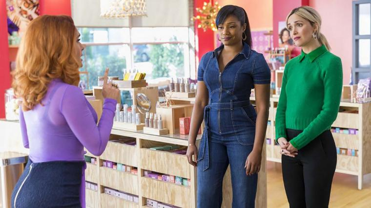 Salma Hayek, Tiffany Haddish, and Rose Byrne in Like a Boss