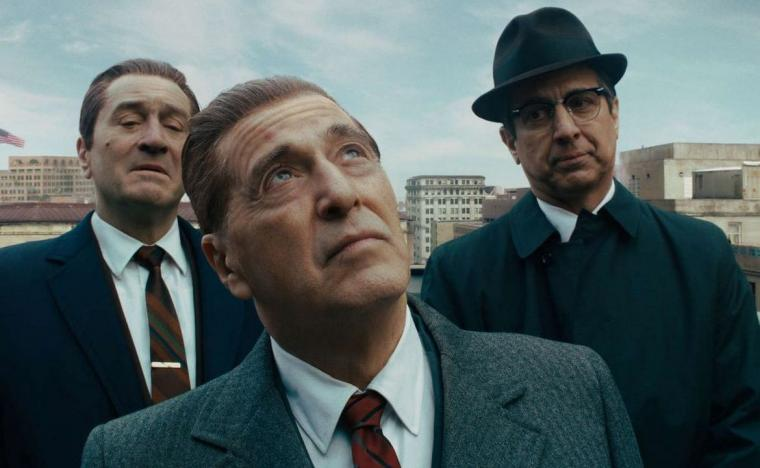 Robert De Niro, Al Pacino, and Ray Romano in The Irishman