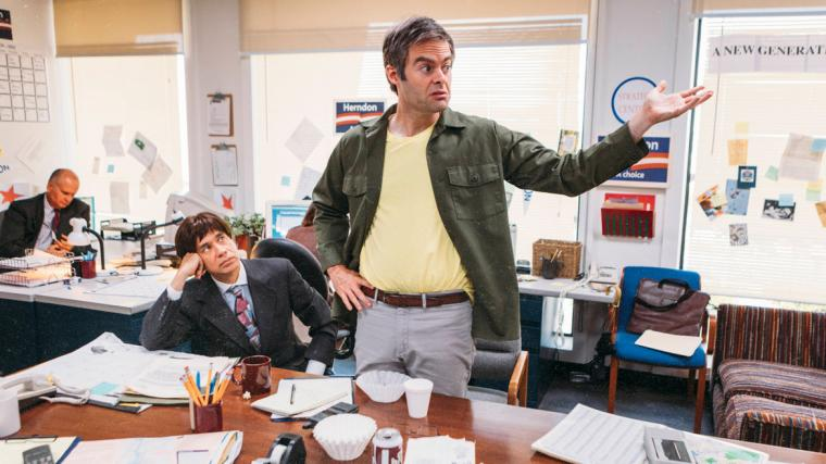 "Fred Armisen and Bill Hader in ""The Bunker"""