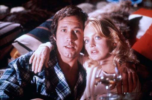 Chevy Chase and Goldie Hawn in Foul Play