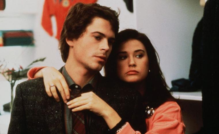 Rob Lowe and Demi Moore in About Last Night