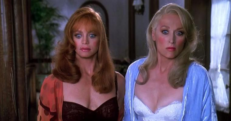 Goldie Hawn and Meryl Streep in Death Becomes Her