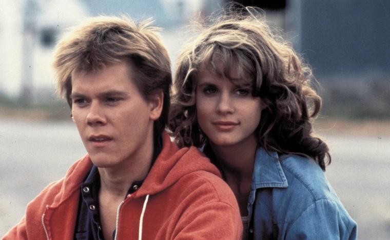 Kevin Bacon and Lori Singer in Footloose