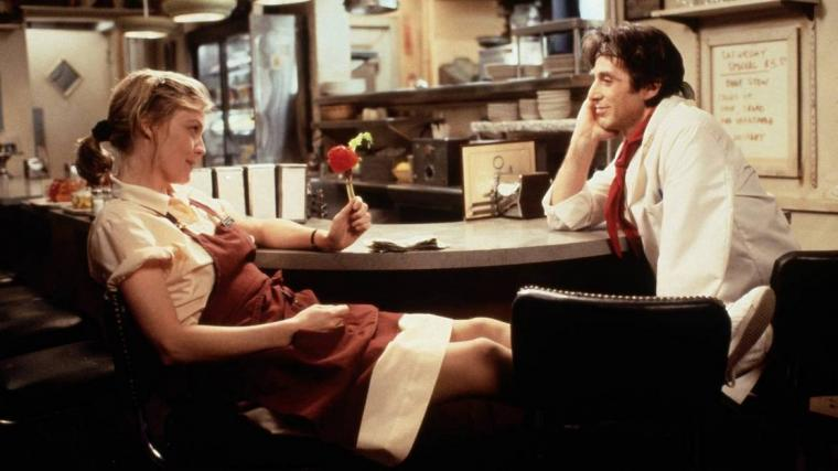Michelle Pfeiffer and Al Pacino in Frankie & Johnny
