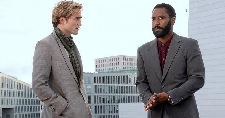 Robert Pattinson and John David Washington in Tenet