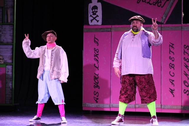Brent Tubbs and Jeremy Mahr in The Complete Works of William Shakespeare (abridged) [revised]