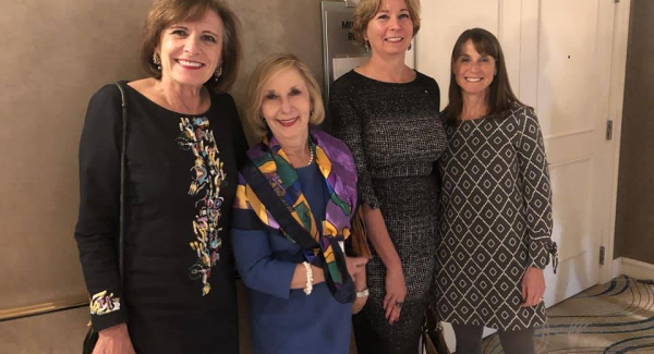 Robyn Gabel (second from left)