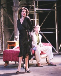 Katherine L. Condit and Brandon Ford in Sunset Boulevard