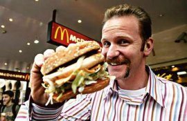 Morgan Spurlock in Super Size Me