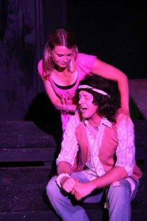 Jenny Winn and Tristan Layne Tapscott in Jesus Christ Superstar