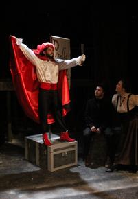 John Whitson in Sweeney Todd: The Demon Barber of Fleet Street, photo courtesy of the Augustana Photo Bureau/Lauren Becker