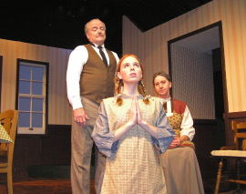Sydney Crumbleholme, with Greg Bouljon and Karen Decker in Anne of Green Gables