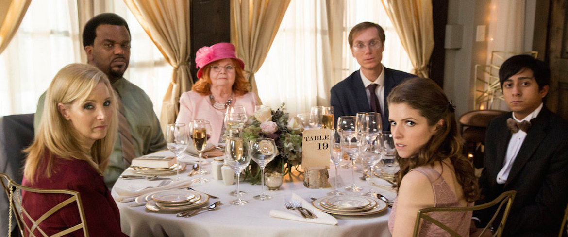 Lisa Kudrow, Craig Robinson, June Squibb, Stephen Merchant, Anna Kendrick, and Tony Revolori in Table 19